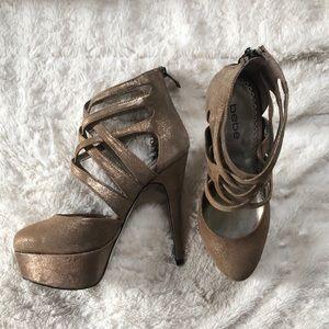 Sexy Bebe Platform Heels